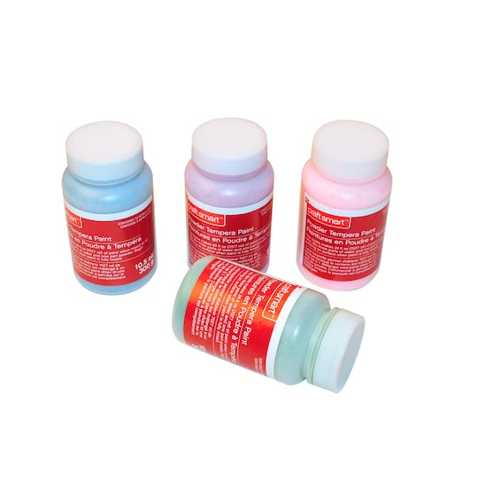 4 Count Cool Tempera Powder Paint Set By Craft Smart®