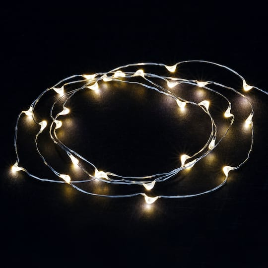 new products cdc1c 952d8 Shimmer Lights™ White LED String Lights By Ashland®