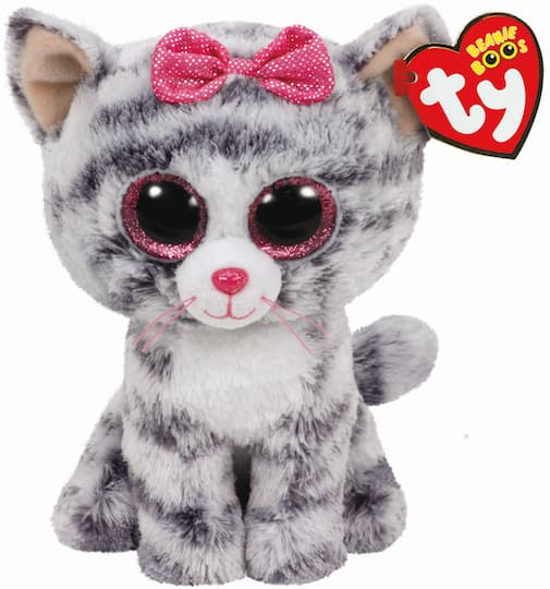 Buy the Ty Beanie Boos™ Gray Kiki Cat a8389d5143ea
