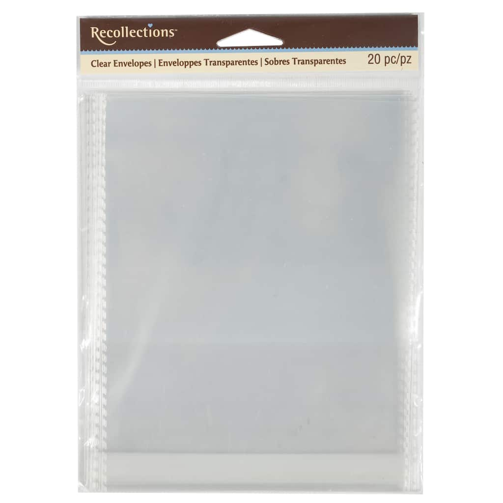 Buy The A2 Clear Envelopes By Recollections At Michaels