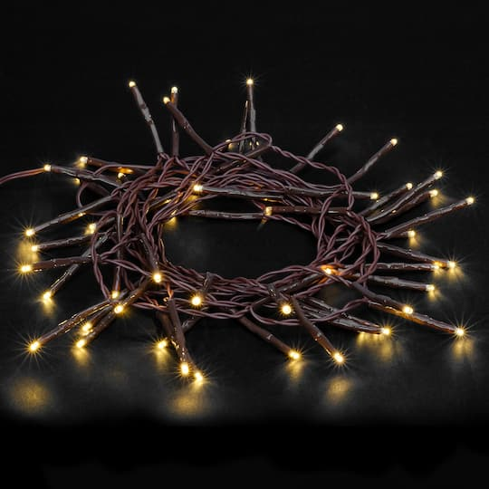 Creative Collection Shimmer Led Lights Garland By Ashland