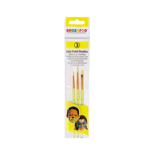 Purchase The Snazaroo Face Paint Brushes 3 Pieces At Michaels