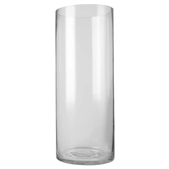 Ashland Large Cylinder Glass Vase 18