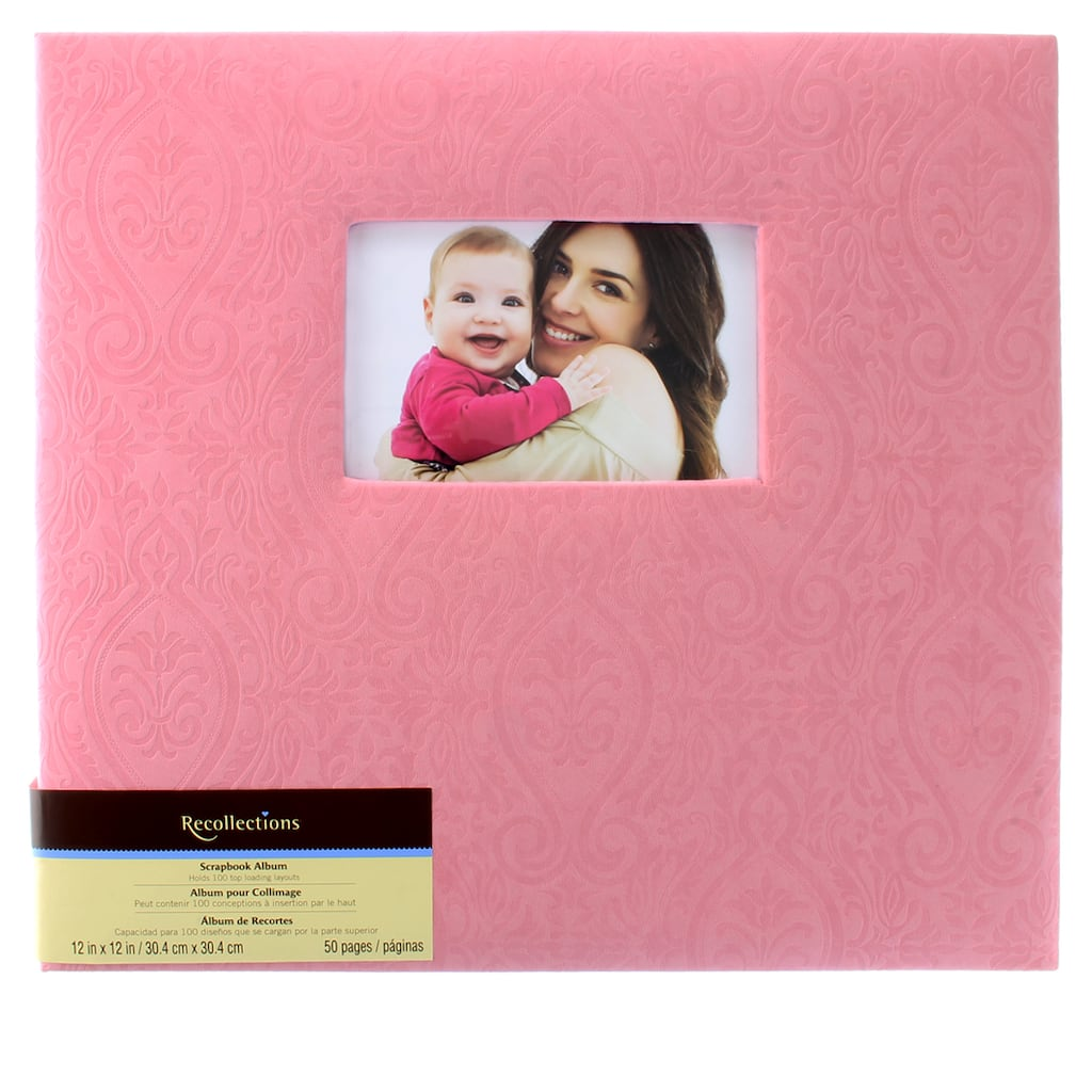 Shop For The Pink Mega Scrapbook Album By Recollections At Michaels