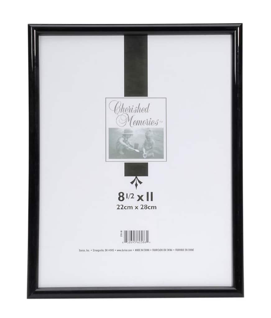black plastic frame 11 x 14. Black Bedroom Furniture Sets. Home Design Ideas