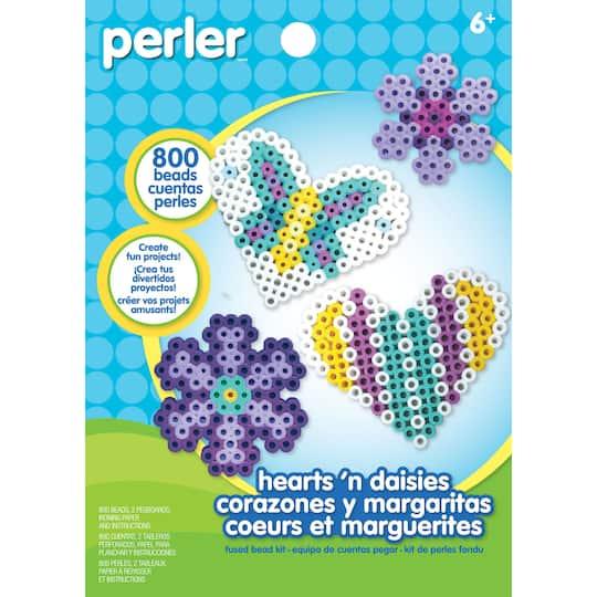 Perler Hearts N Daisies Kit