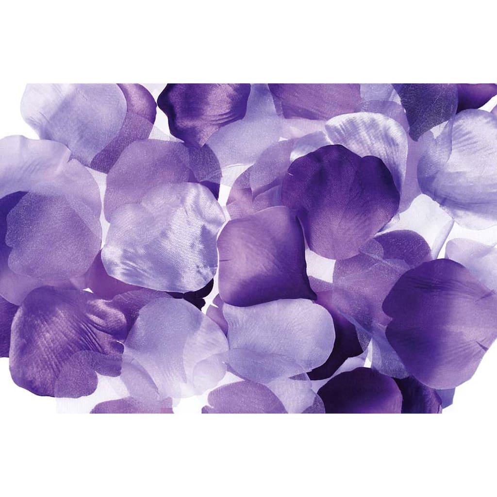 Victoria Lynn 300 Loose Satin Rose Petals Purple