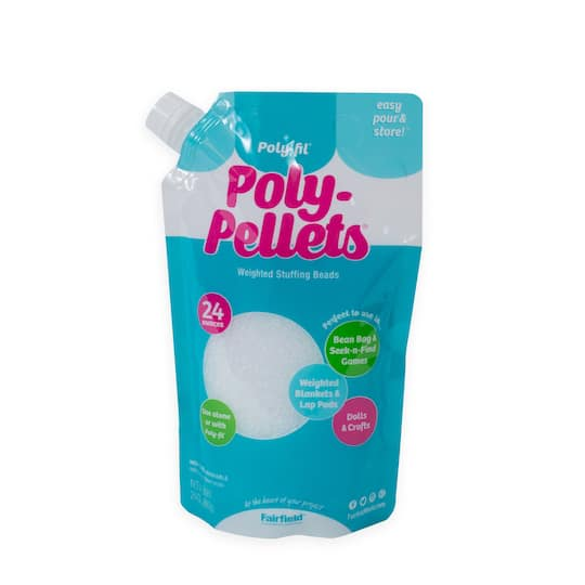 Find The Poly Fil Poly Pellets Weighted Stuffing Beads At Michaels