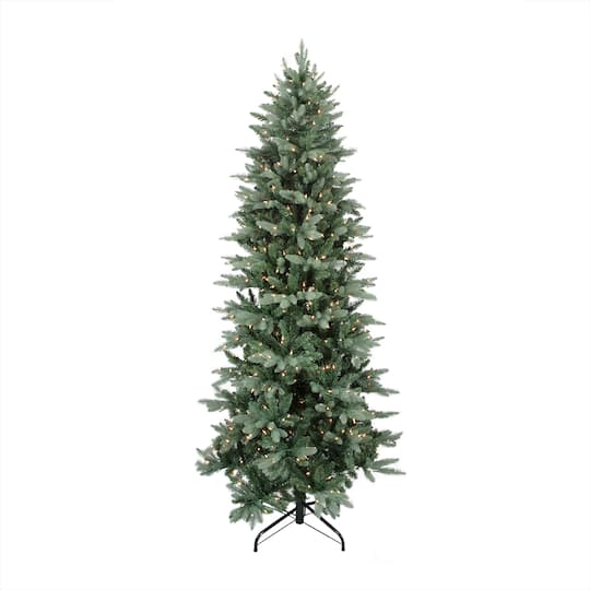12 ft pre lit washington frasier fir slim artificial christmas tree clear lights