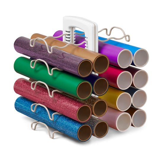 Vinyl Roll Organizer Stand by Simply Tidy™