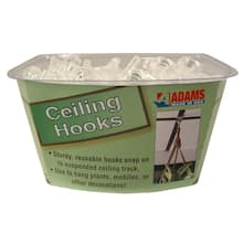 Ceiling Hooks, 42 Count