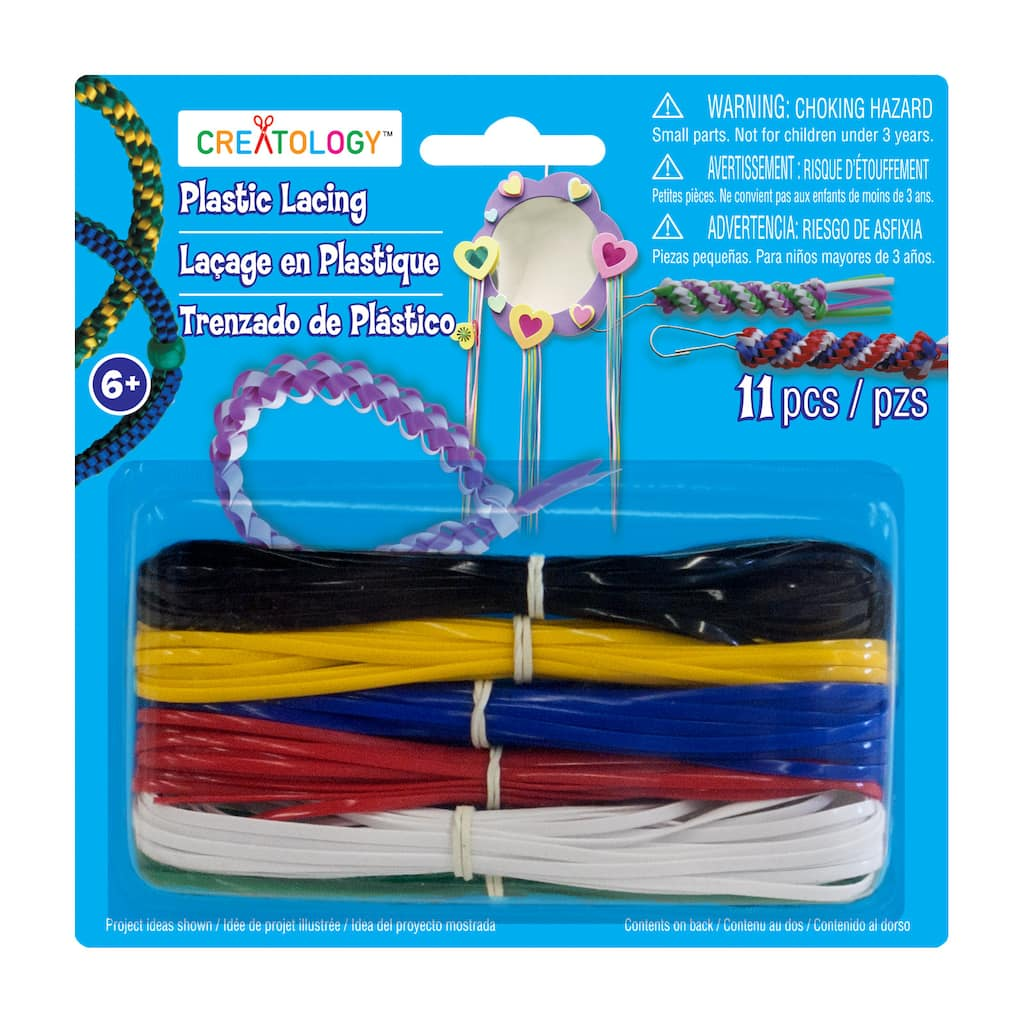 Shop for the Cool Combos Plastic Lacing by Creatology™ at Michaels
