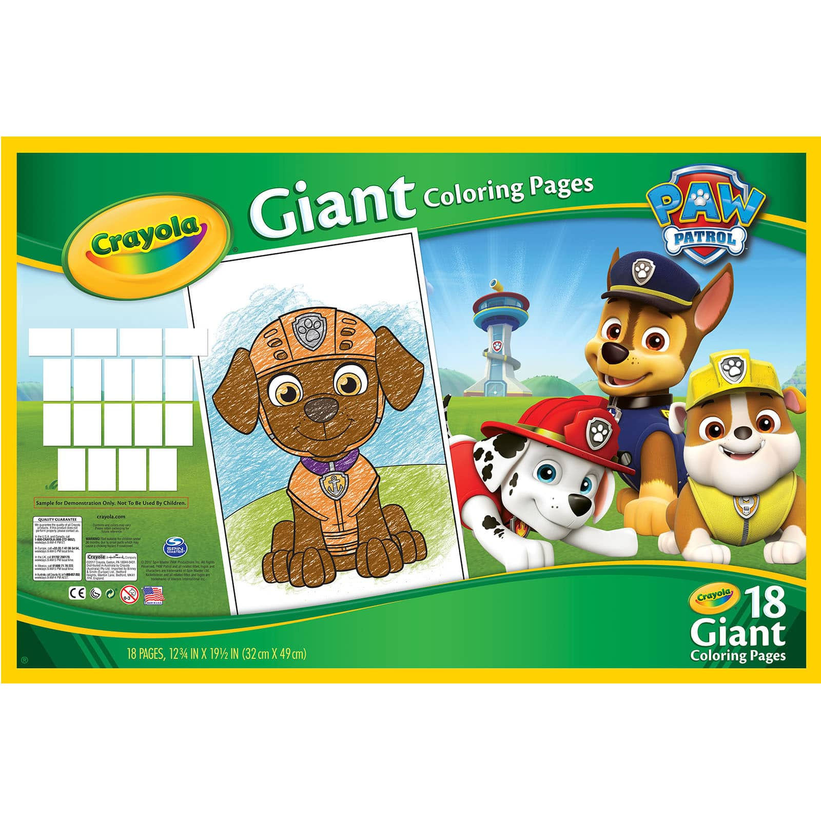 Shop For The Crayola® Paw Patrol® Giant Coloring Pages At Michaelsrhmichaels: Crayola Giant Coloring Pages Paw Patrol At Baymontmadison.com