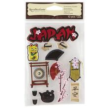Recollections™ Dimensional Stickers, Japan