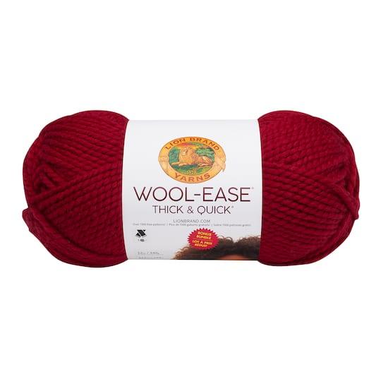 Lion Brand Wool Ease Thick Quick Yarn Bonus Bundle
