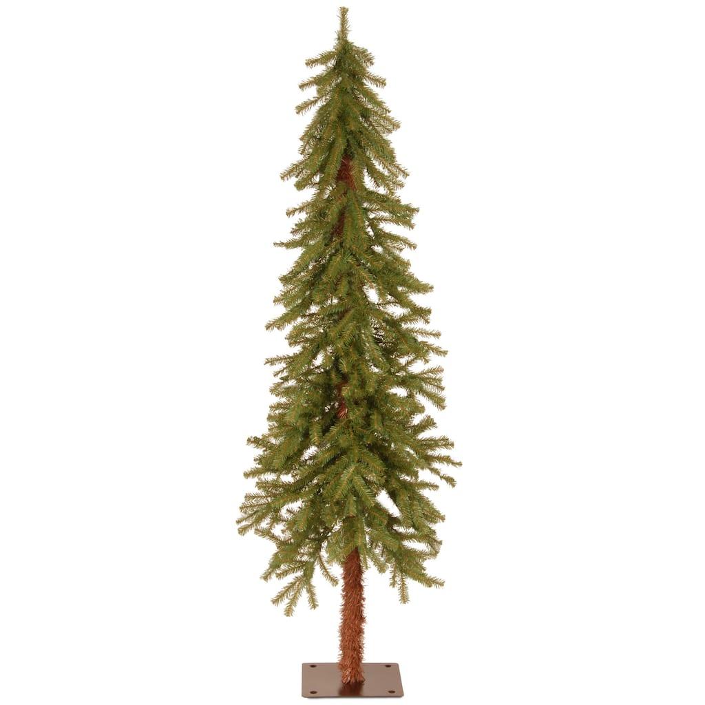 unlit hickory cedar artificial christmas tree img