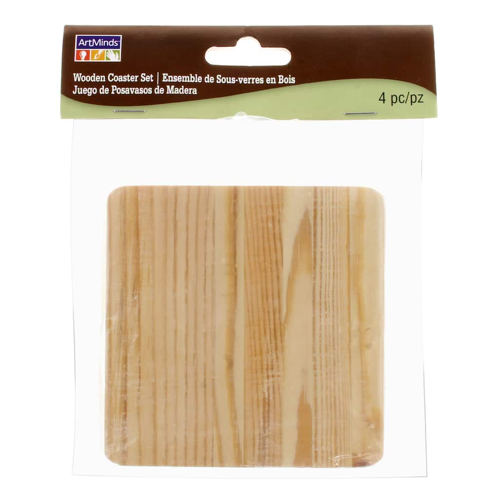 Shop For The Wooden Coaster Set By Artminds At Michaels