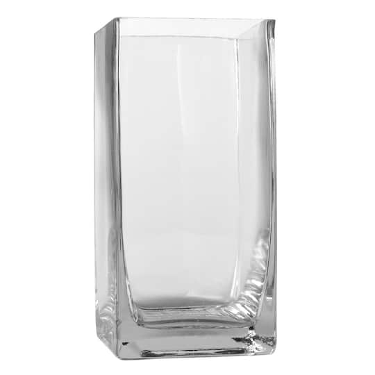 Ashland Tall Cube Glass Vase 6