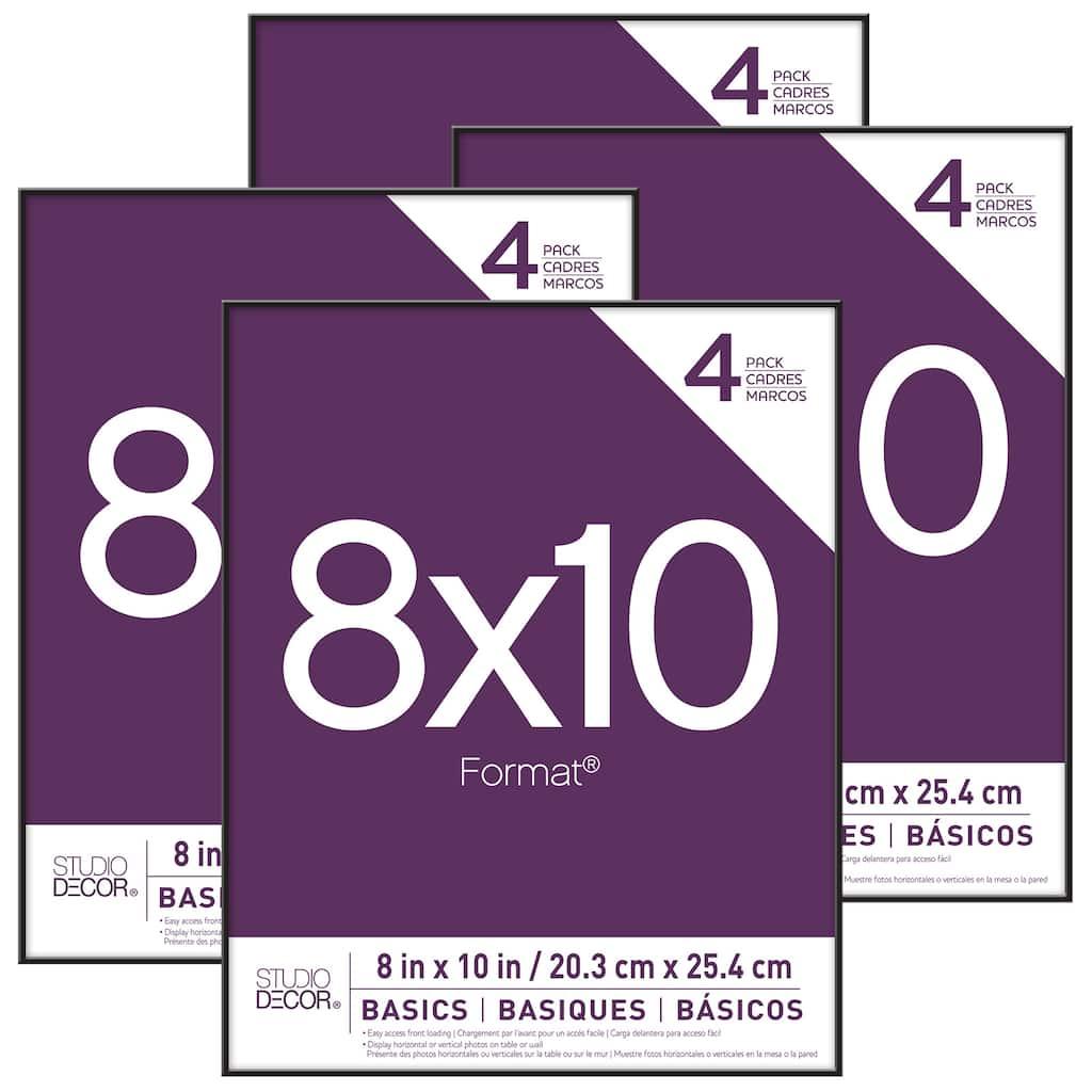 Shop for the 4-Pack Black Format® Frames, 8\