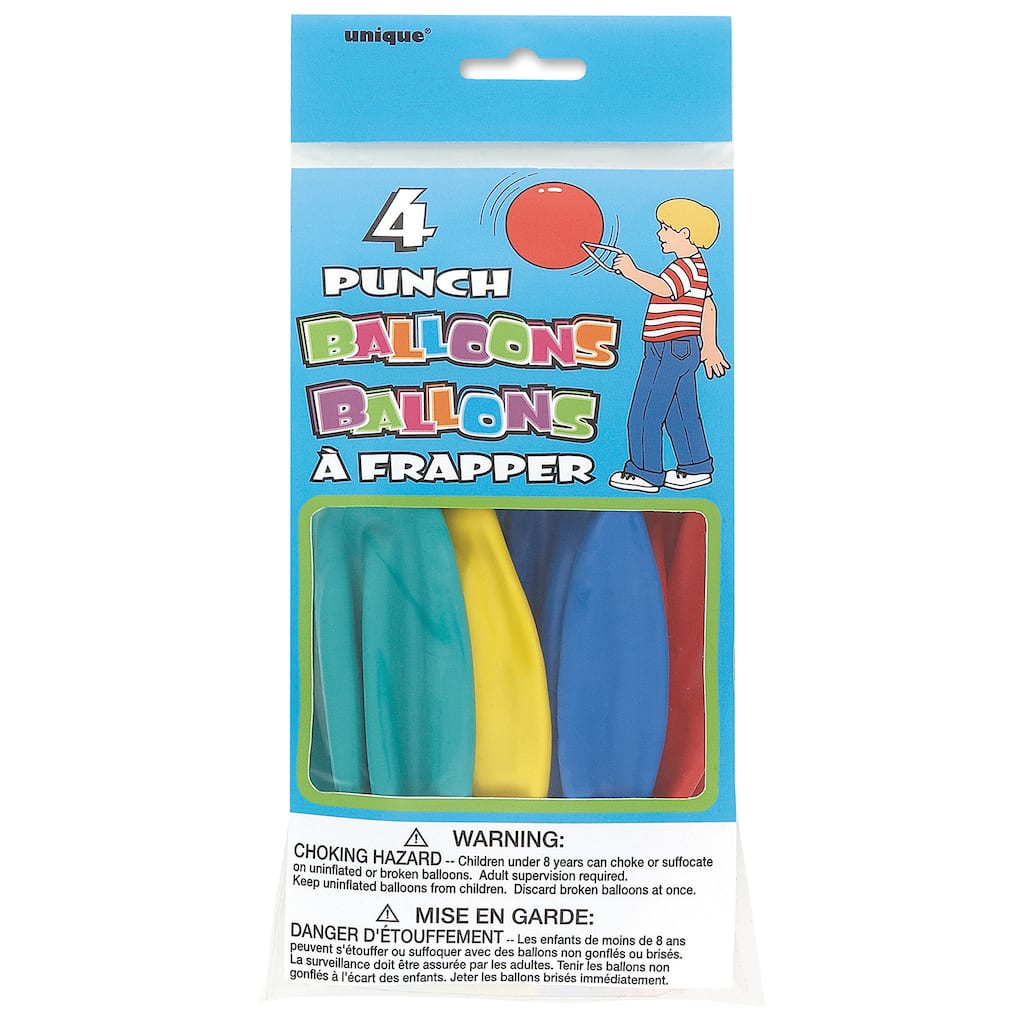 Punching Balloons   Birthday Party Favors