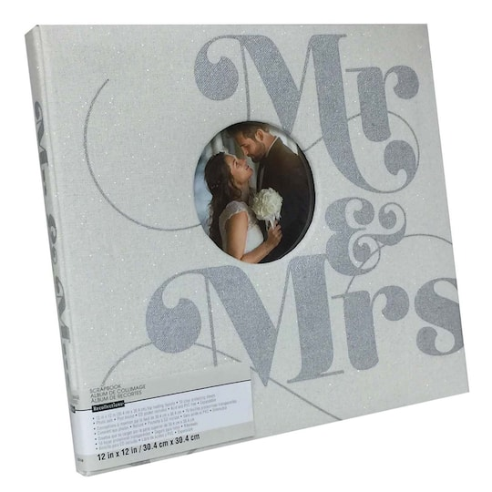 Buy The Mr Mrs Scrapbook By Recollections At Michaels
