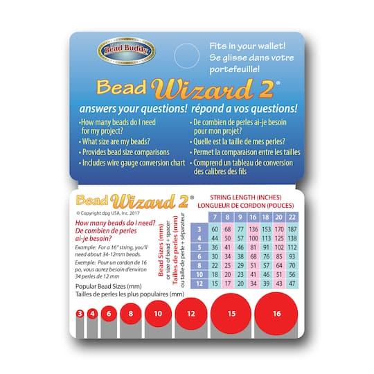 Bead Buddy Bead Wizard 2™ Plastic Card
