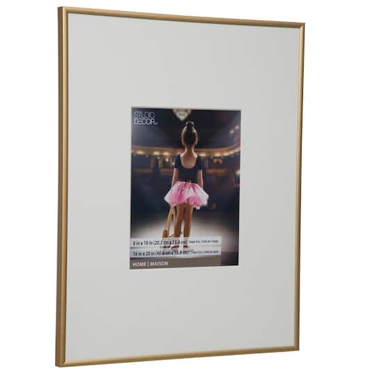 Shop for the Gold Aluminum Frame By Studio Décor®, 8\