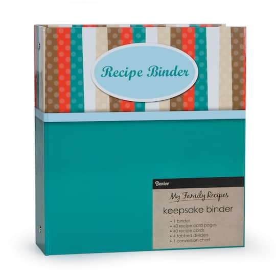 recipe binder basic modern design make your own recipe book