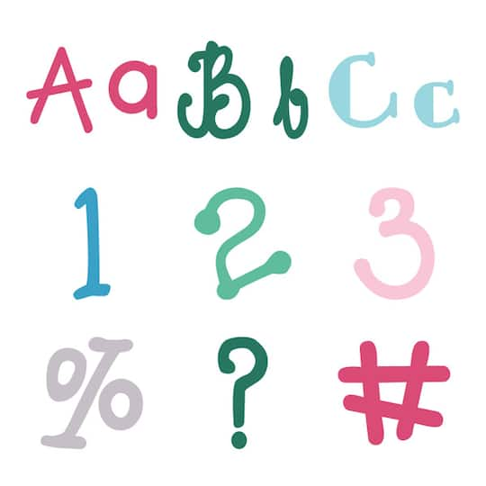 Cricut® Fontastic Fonts Cartridge