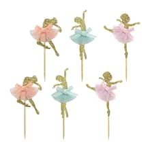 gold ballerina treat toppers by celebrate it® ad964076291d