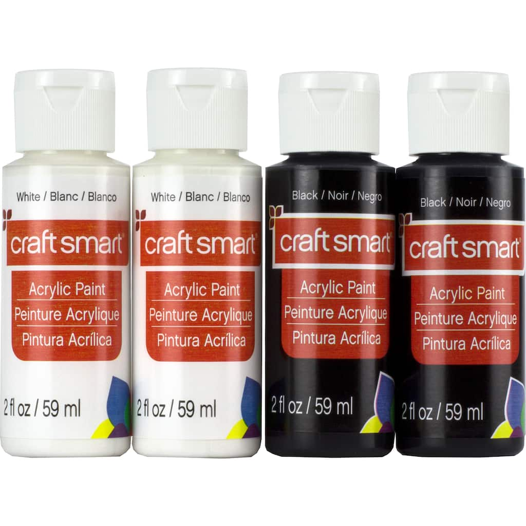 Shop for the Black & White Acrylic Paint Value Set By Craft Smart ...