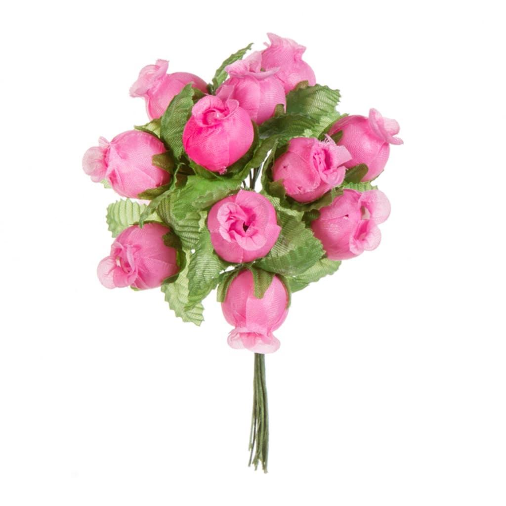 Light Pink Mini Rosebud Bunch