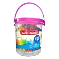 Deals on Crayon Bucket By Creatology 200 Piece