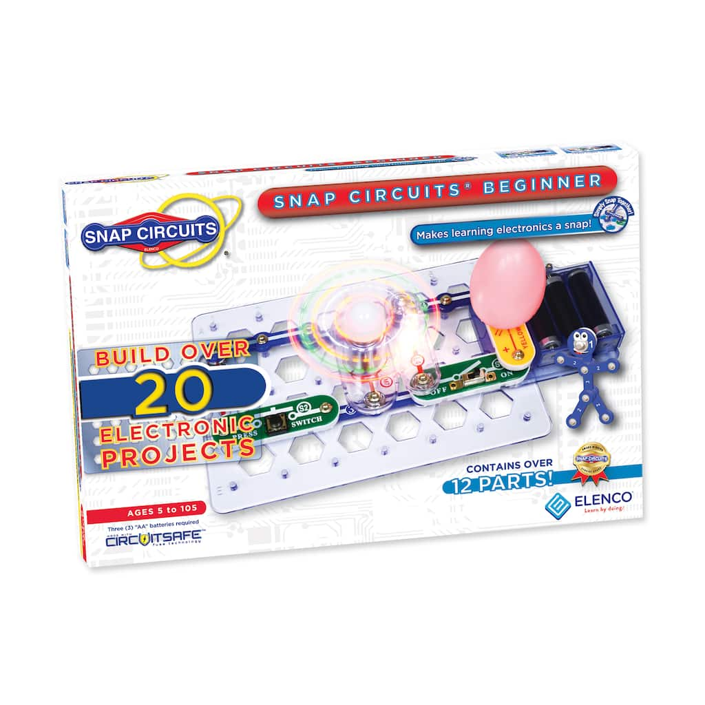 Find The Elenco Snap Circuits Beginner At Michaels Circuit Parts Img