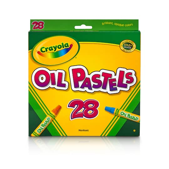 Get the Crayola® Colored Oil Pastels Set, 28ct. at Michaels