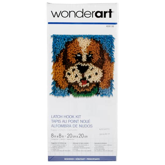 Wonderart Latch Hook Kit Puppy