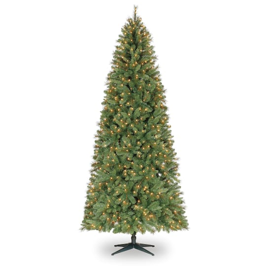 9ft Christmas Tree.9ft Pre Lit Quick Set Willow Pine Artificial Christmas Tree Clear Lights By Ashland