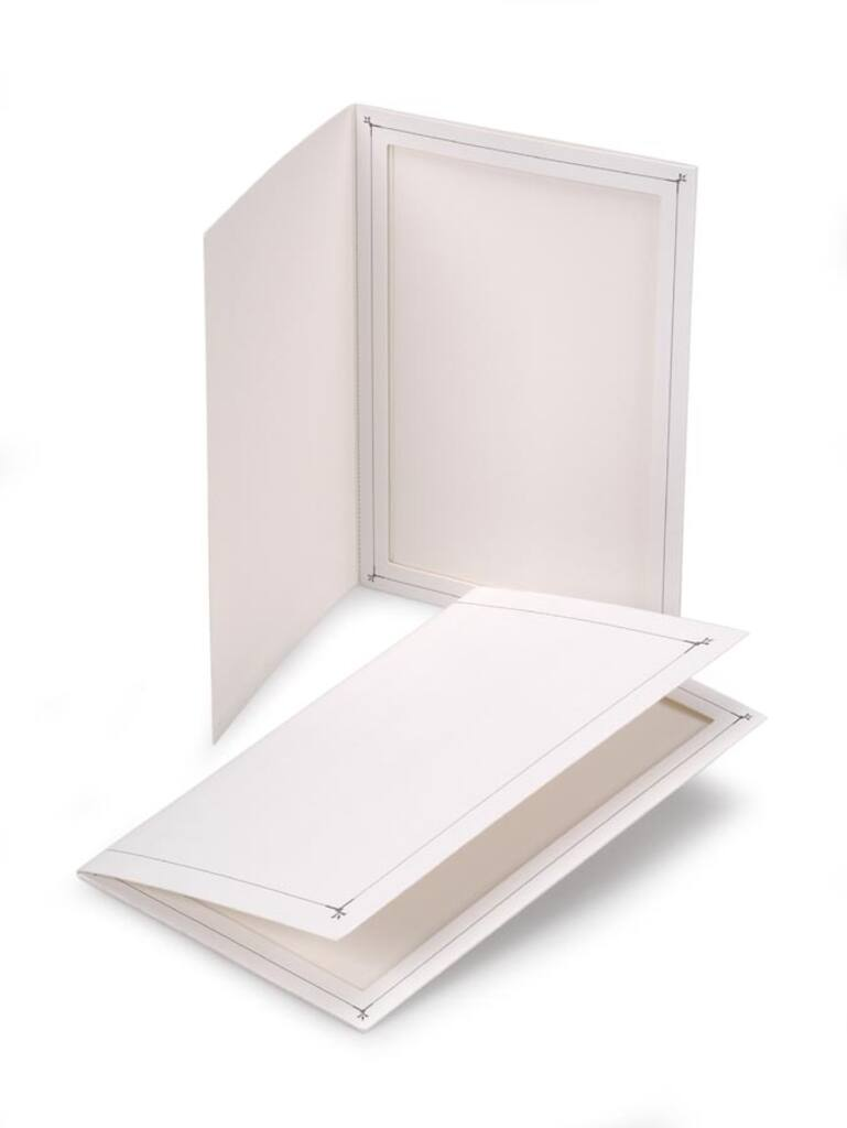 Paper Photo Folders: 4x6 inches, 2 pack