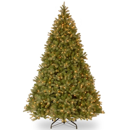 best cheap 50900 333a1 10 Ft. Pre-Lit Feel Real® Downswept Douglas Full Artificial Christmas Tree,  Clear Lights