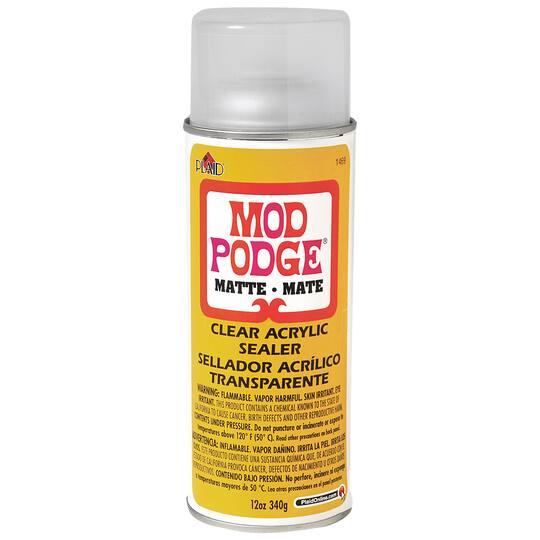 Mod Podge® Clear Acrylic Sealer, Matte