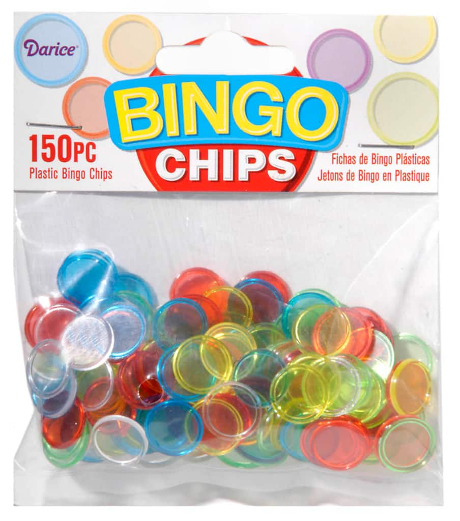 This is a graphic of Universal Printable Bingo Chips
