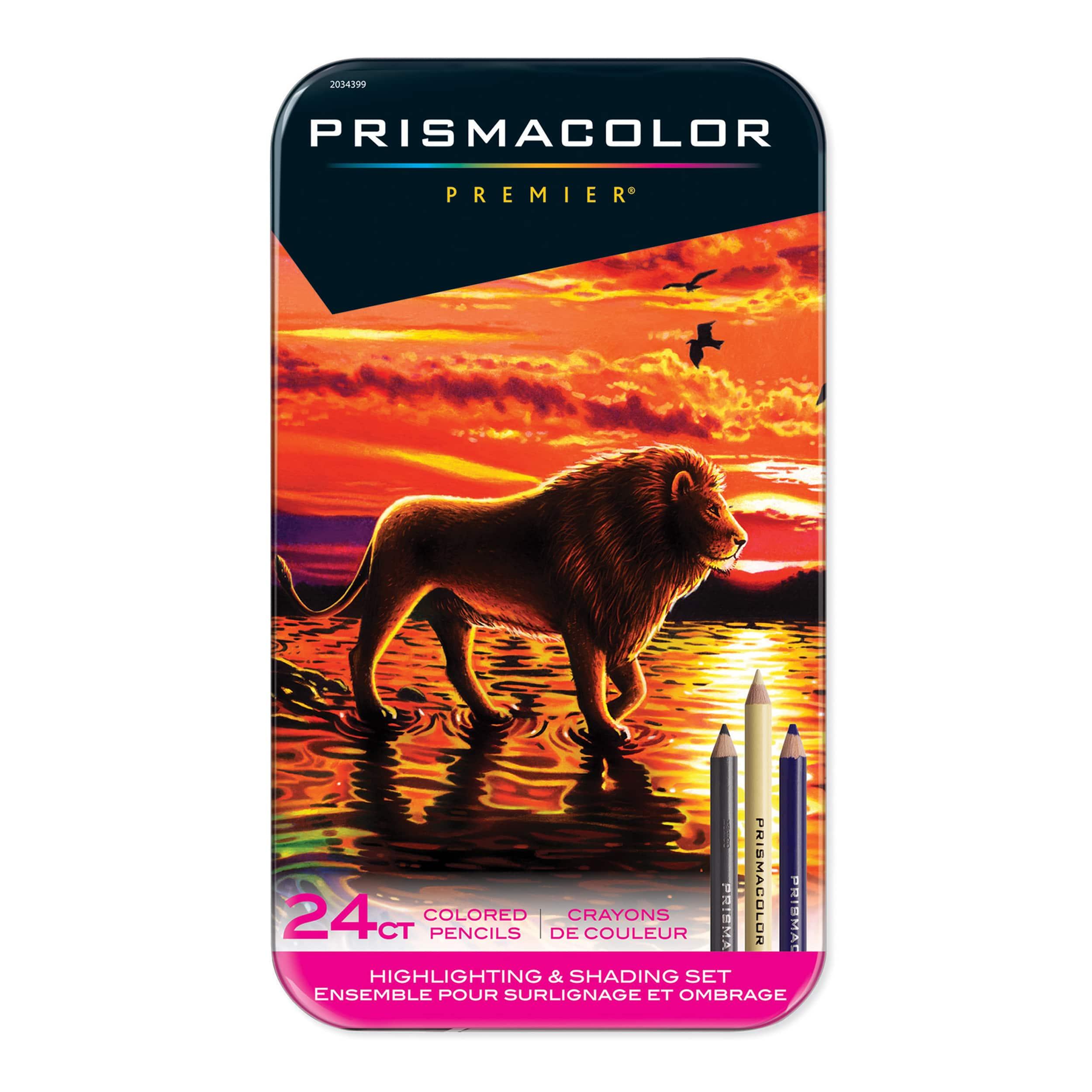 Prismacolor Highlighting /& Shading Colored Pencil Set 24//Pkg