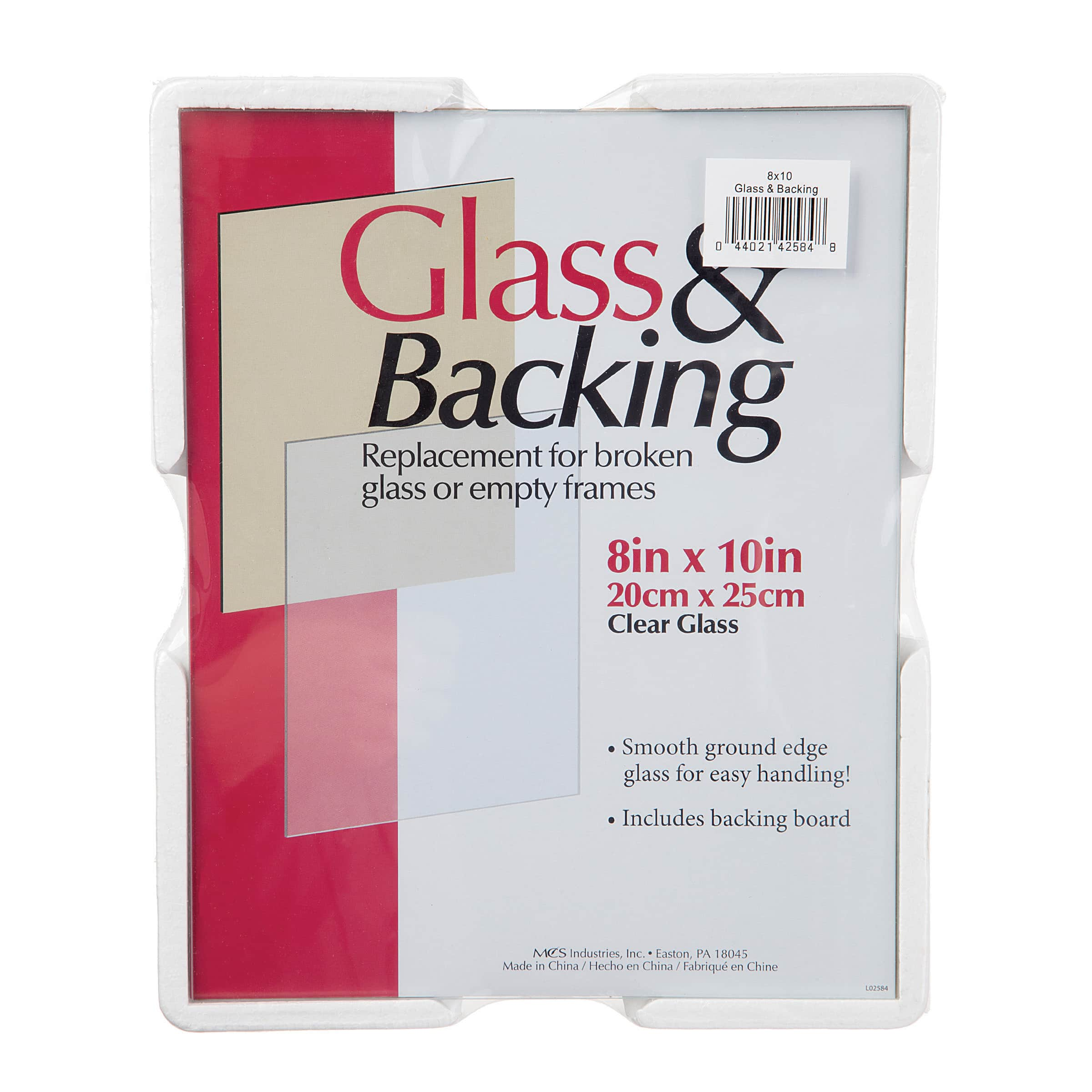 MCS Picture Frame Glass /& Backing for 12x16 Frames Same Shipping Any Qty