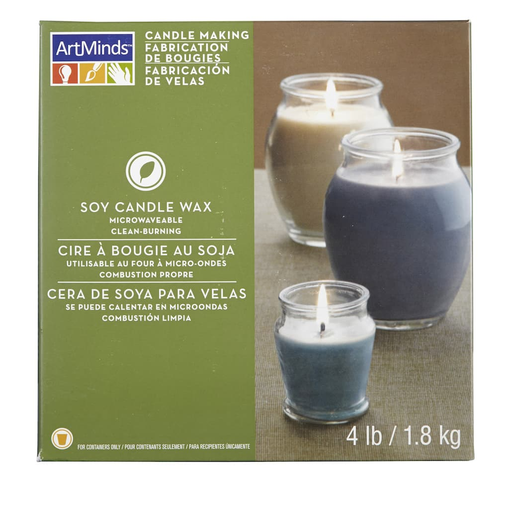 ArtMinds™ Candle Making, Soy Wax