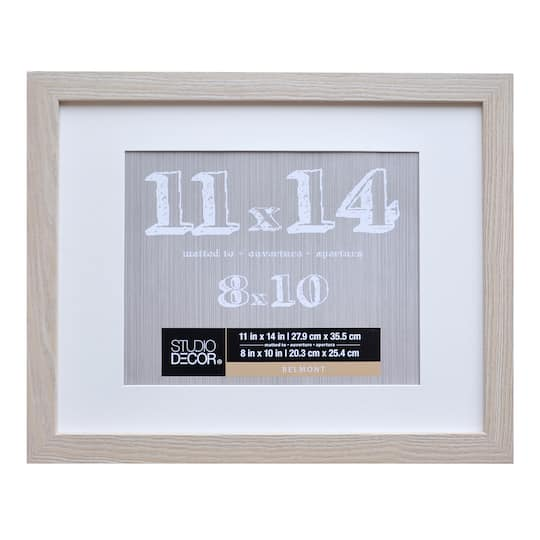 Shop For The Blonde Belmont Frame With Mat By Studio Dcor At Michaels