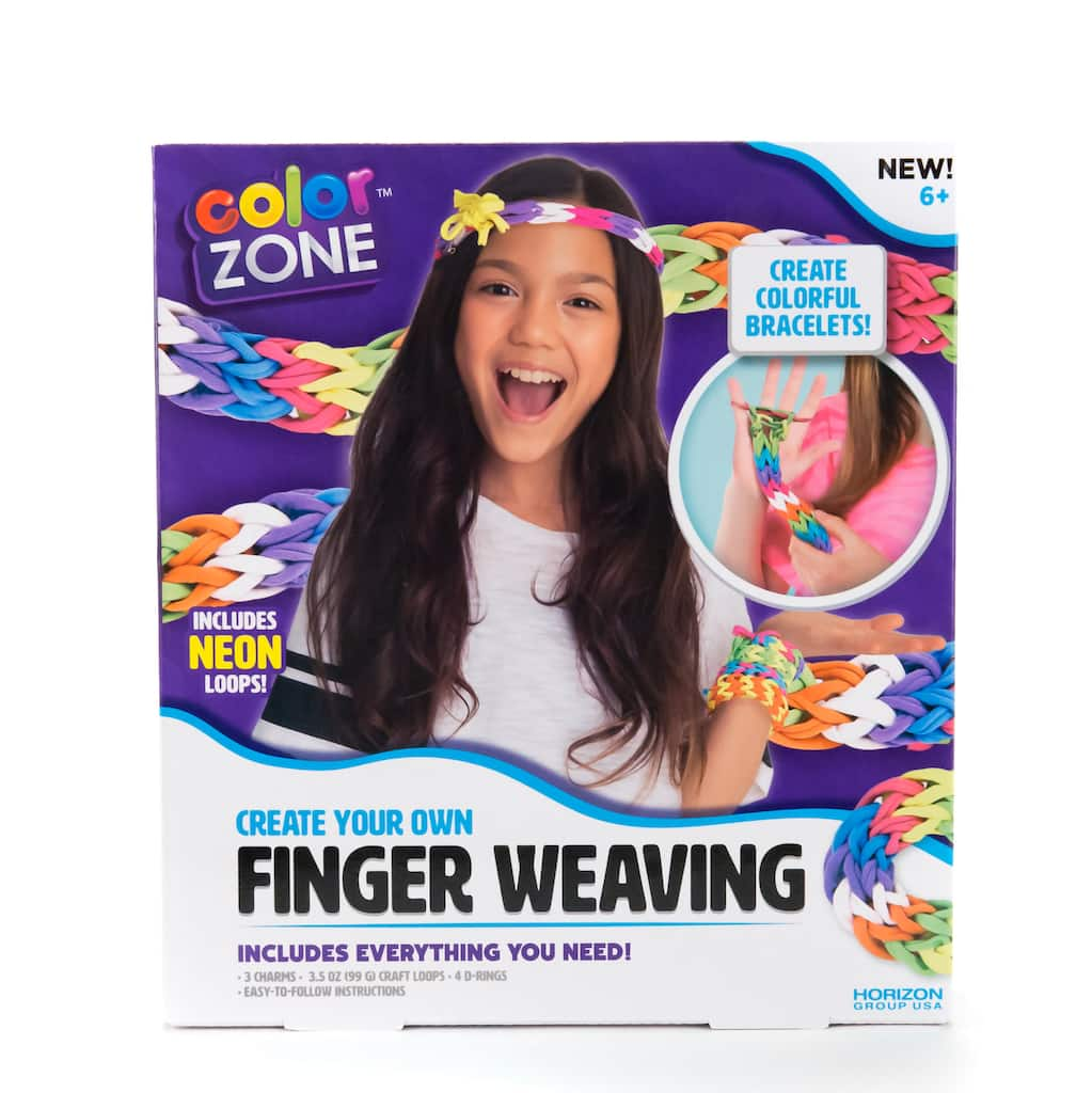 Find The Color Zone Create Your Own Finger Weaving Kit At Michaels