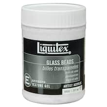 liquitex glass beads texture gel