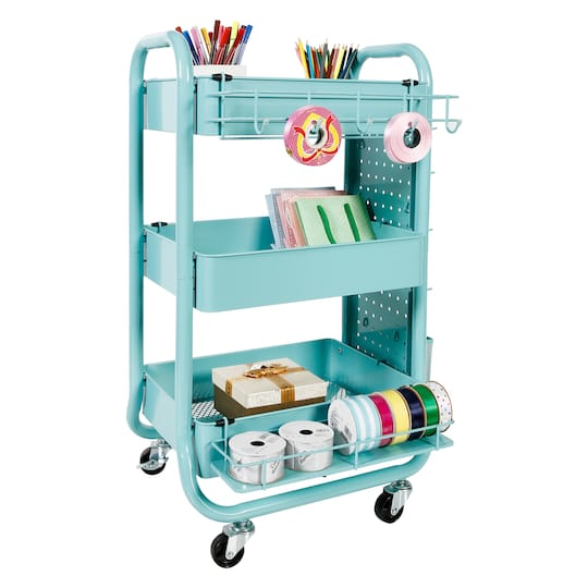 bf3291a8a286 Teal Gramercy Cart by Recollections™