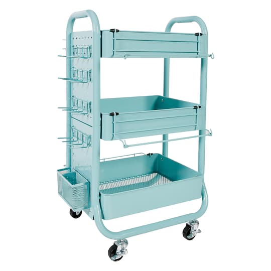 Find The Teal Gramercy Cart By Recollections At Michaels