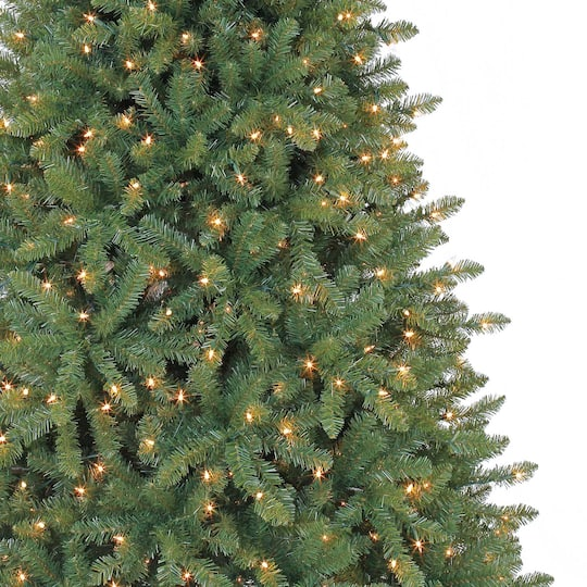 Ashland Christmas Trees.7 5ft Pre Lit Hartford Pine Artificial Christmas Tree Clear Lights By Ashland